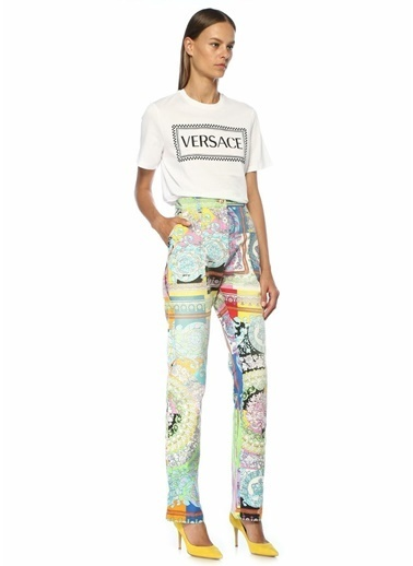 Versace Pantolon Renkli